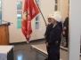 Posvätenie požiarnickej zástavy