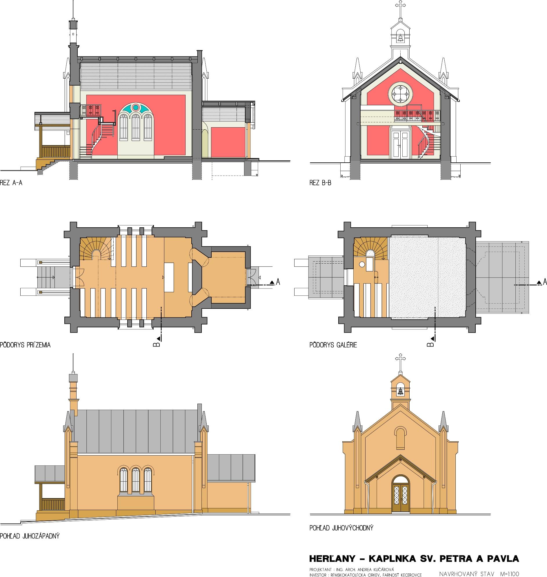 Kostol Herľany rekonštrukcia